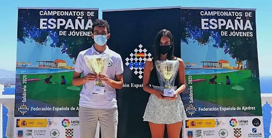 Campeones Ajedrez Sub16