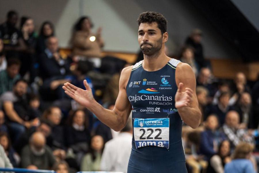 Samuel García, oro en Suecia